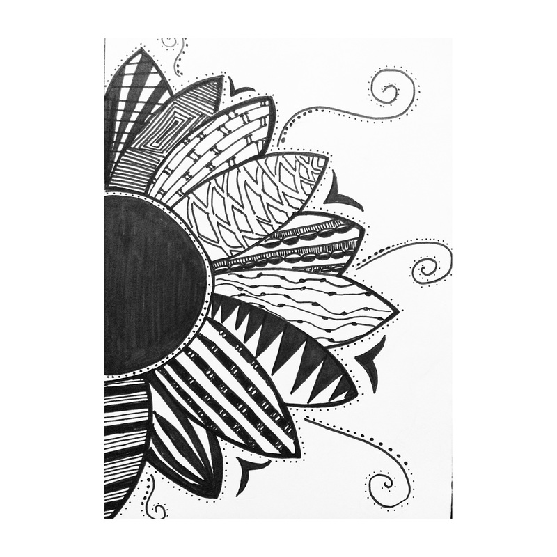 Zentangles Pattern The Freedom Of Art